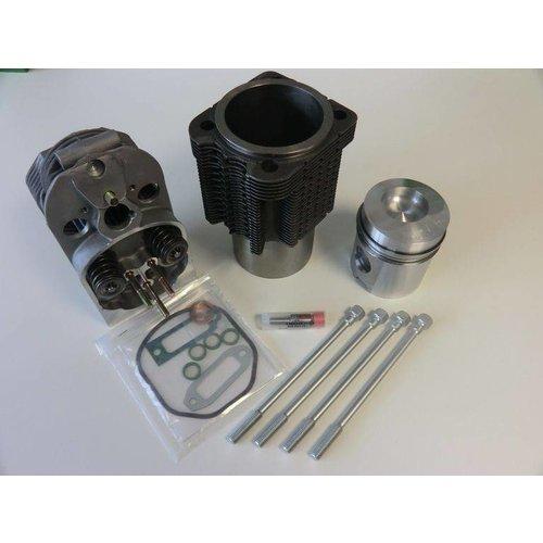Deutz Kolben+Zylinder+Zylinderkopf f. Deutz Motor F2L912 F3L912 F4L912 F6L912 ohne Turbo