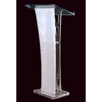 Berlioz - clear or frosted acrylic lectern