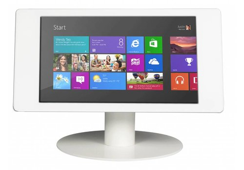 "Bravour Tafelstandaard voor Microsoft Surface Pro 4 12.3"" wit Fino"