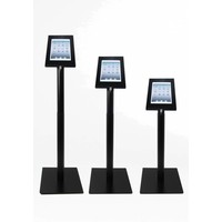 """Height adjustable Floor stand Securo for tablets 9-11"""", black, white, grey"""