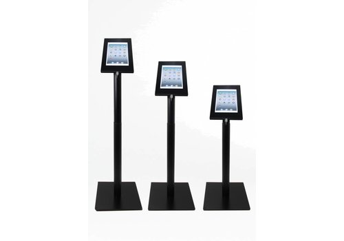 "Bravour Height adjustable Floor stand Securo for tablets 9-11"", black, white, grey"