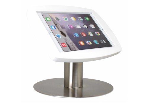 Bravour Tafelstandaard voor iPad Air, iPad Air 2 y iPad Pro 9,7 houder acrylaat wit /voet RVS, Lusso