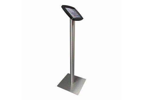 Bravour Soporte para iPad Air, iPad Air 2 y iPad Pro 9,7 negro/acero, soporte de piso Lusso