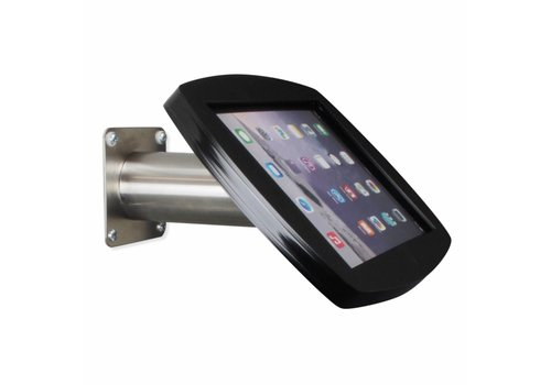 Bravour iPad casing wall/table mount, Air2/Pro 9,7 black/stainless steel, Lusso