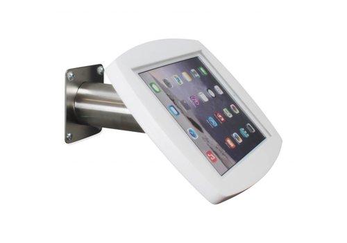 Bravour Lusso  - Obudowa do montażu naściennego / stołowego do iPada, Air2 / Pro 9,7 biały / stal nierdzewna