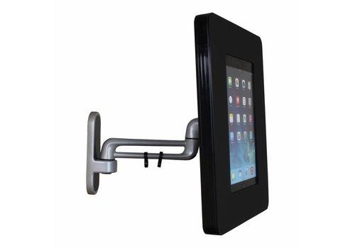 """Bravour Wandhouder Flessibile voor Samsung Galaxy Tab A & S 9,7"""" (125 mm, 300 mm, 450 mm), zwart, Fino"""