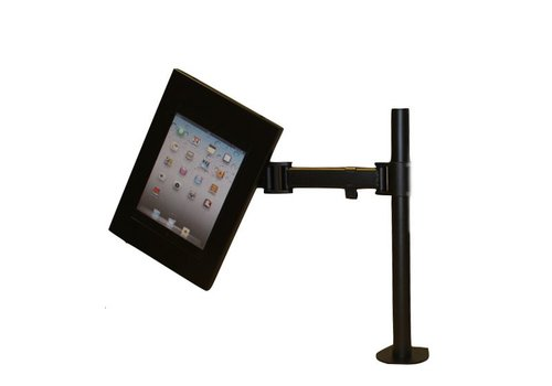 Bravour Soporte de escritorio con brazo flexible, para casette Fino, Flessibile