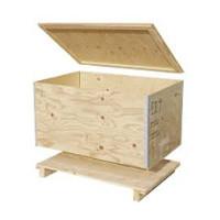 Wooden transport case