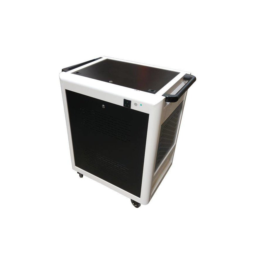 Mobile Cart Voor 32 Ipads Of Tablets Laadstation