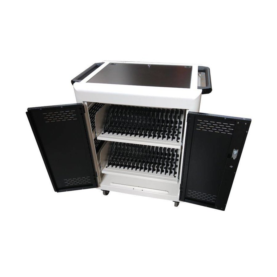 iNdota T1 32 Bay Tablet Security Trolley, Store Sync & Charge, iPads, tablet, laptops, Netbooks, Chromebooks
