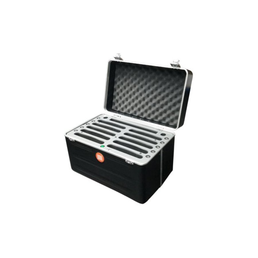 """Parotec-IT tablet transportcase with charging function for 10 iPad's and tablets up till 10.2""""; inSync C452"""