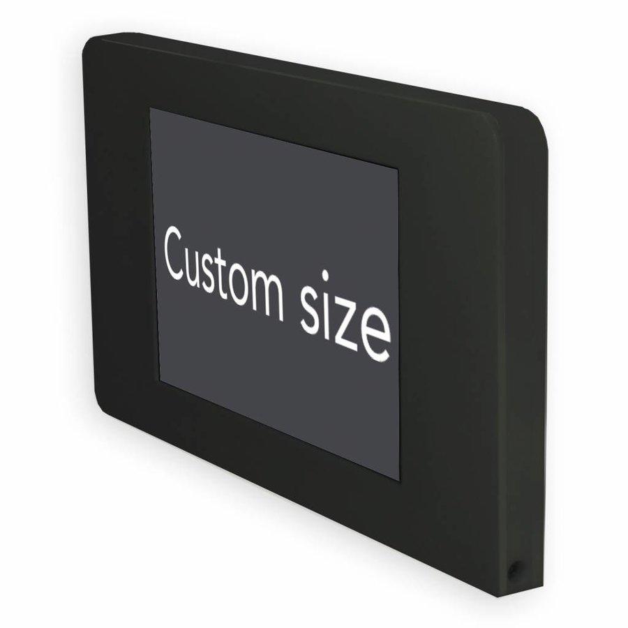 "Flat wall stand for Samsung Tab A 10,1"", Samsung Tab S 9,7, Samsung Tab E 9,6, Samsung Pro 12,2, Samsung 8"", black, Piatto"