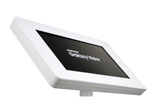 """Bravour Soporte de pared y escritorio para Samsung Galaxy View 18,4"""", negro ó blanco, Fino"""