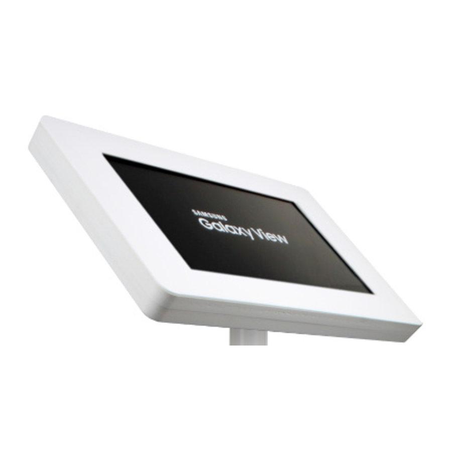 """Soporte de mesa y pared para Samsung Galaxy View 18,4"""", negro ó blanco, Fino"""