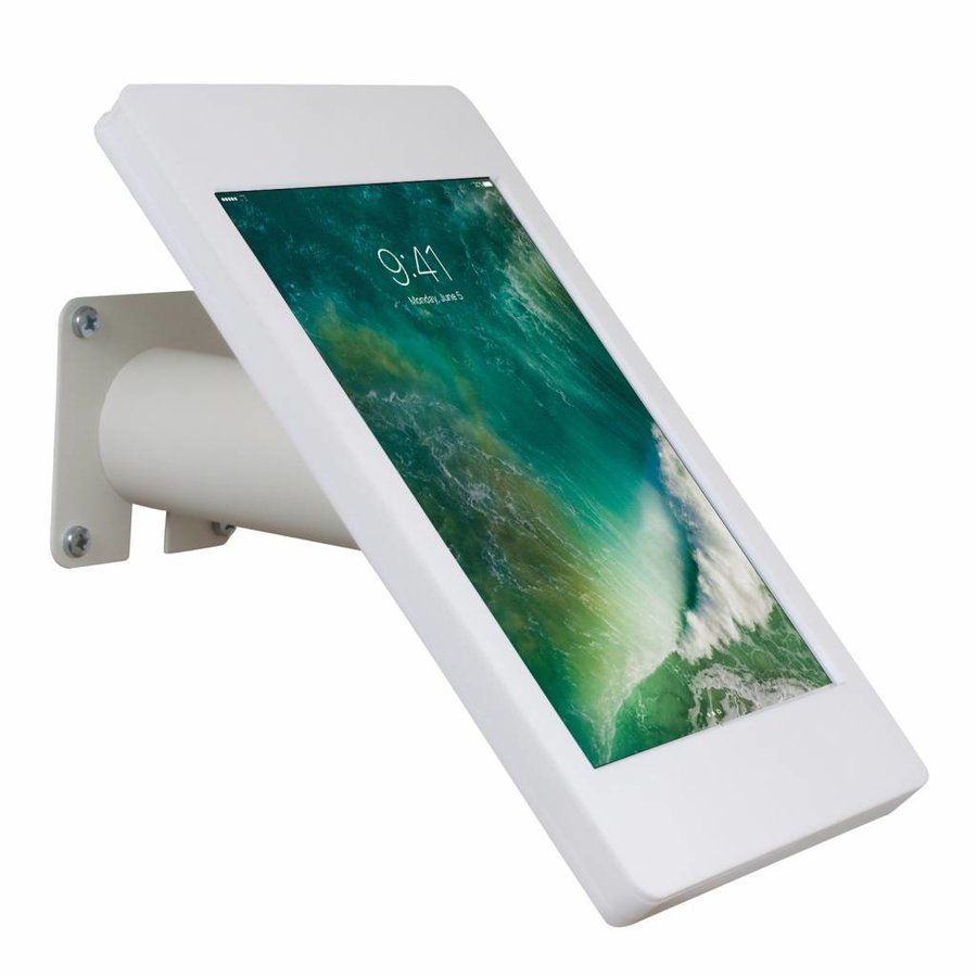 """Desk and wall stand for iPad 10.5"""" white, lock included"""