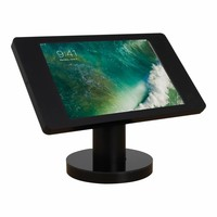 "Desk and wall stand for iPad 10.5"" black,  lock included"