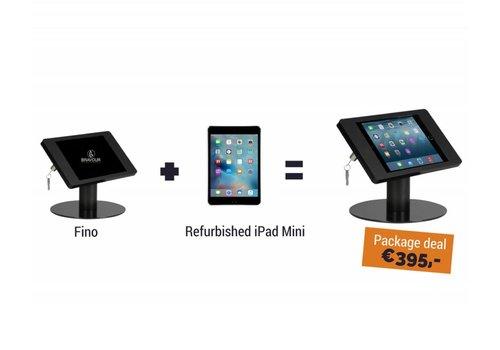 Bravour Soporte de mesa Fino + iPad Mini, negro