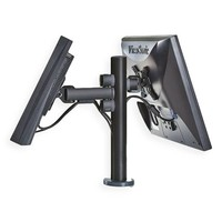 Point of sale RetailSystem, two-arm mounting for screens.