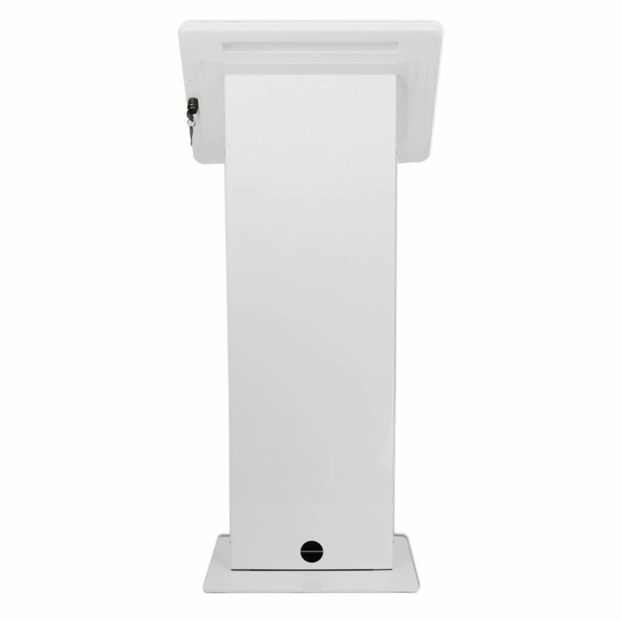 Monitor & Touch screen Floor stand, Largo, white