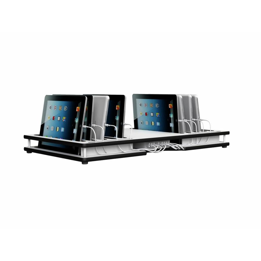 SyncDeck & powerDeck, 10 iPad/tablets devices, Zioxi