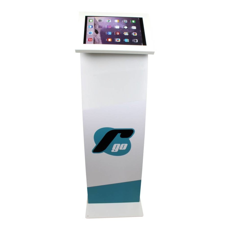 Display stand for tablets 12-13 inch white Securo
