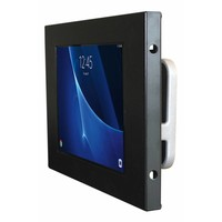 "Tablet wall mount Flessibile at 125 mm from the wall with Securo enclosure voor Samsung Galaxy Tab A 10.1"", black"
