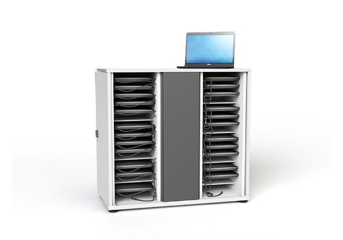 "Zioxi Gabinete para cargar hasta  16 Chromebook Macbook Laptop Tablet hasta 14"""