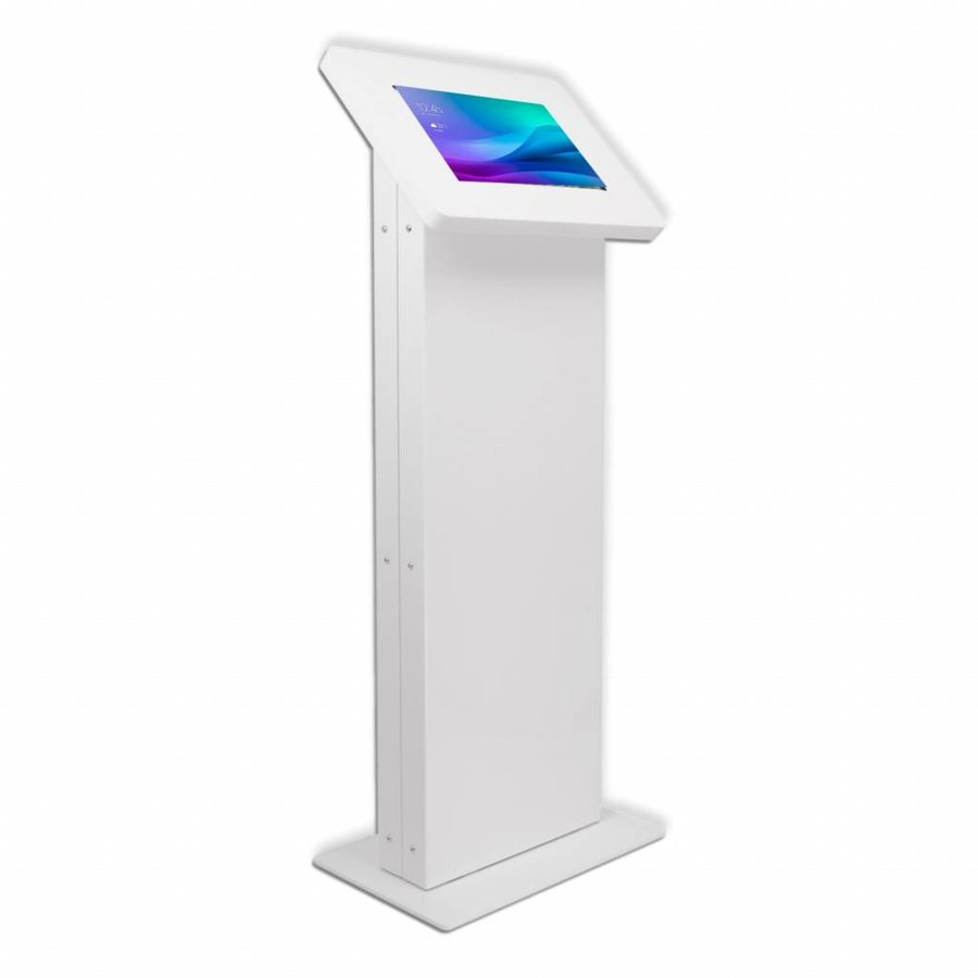 Monitor & Touch screen Floor stand VESA 75/100/200, Largo, white