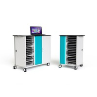 Zioxi charge trolley for 30 Chromebooks, Laptops en Notebooks until 15.6 inches