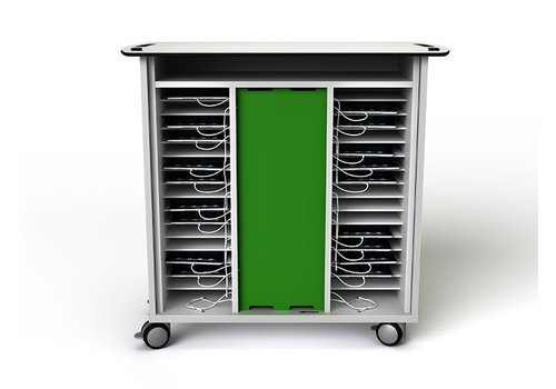 Zioxi Ccharge cabinet with wheels for 32 iPads and tablets till 11 inch