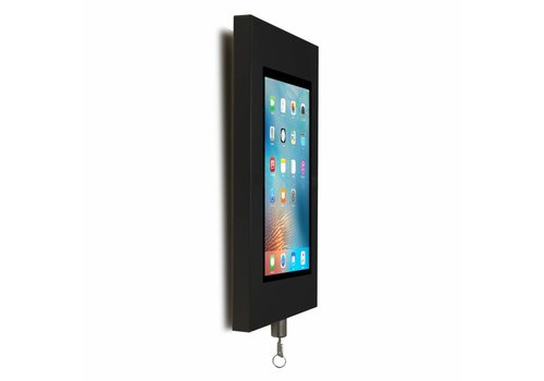 Bravour Wandhouder, zwart, voor 9 tot 11 inch tablets, Securo, afsluitbaar