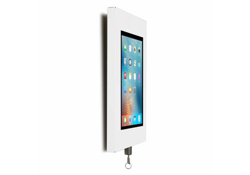 Bravour Wandhouder, wit, voor 9 tot 11 inch tablets, Securo, afsluitbaar