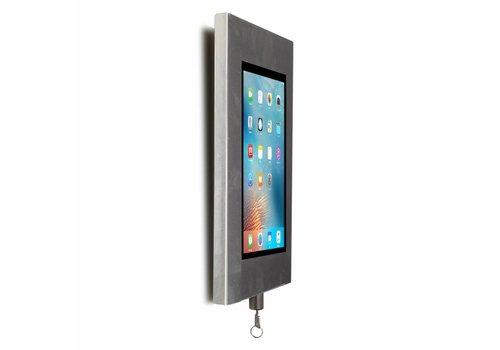 Bravour Wandhouder, RVS, voor 9 tot 11 inch tablets, Securo, afsluitbaar