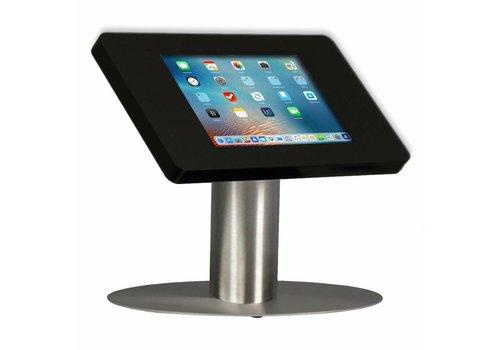 Bravour Soporte iPad de escritorio para iPad Mini, negro/acabado en acero, Fino