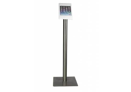 Bravour iPad mini floor stand Fino white / stainless steel