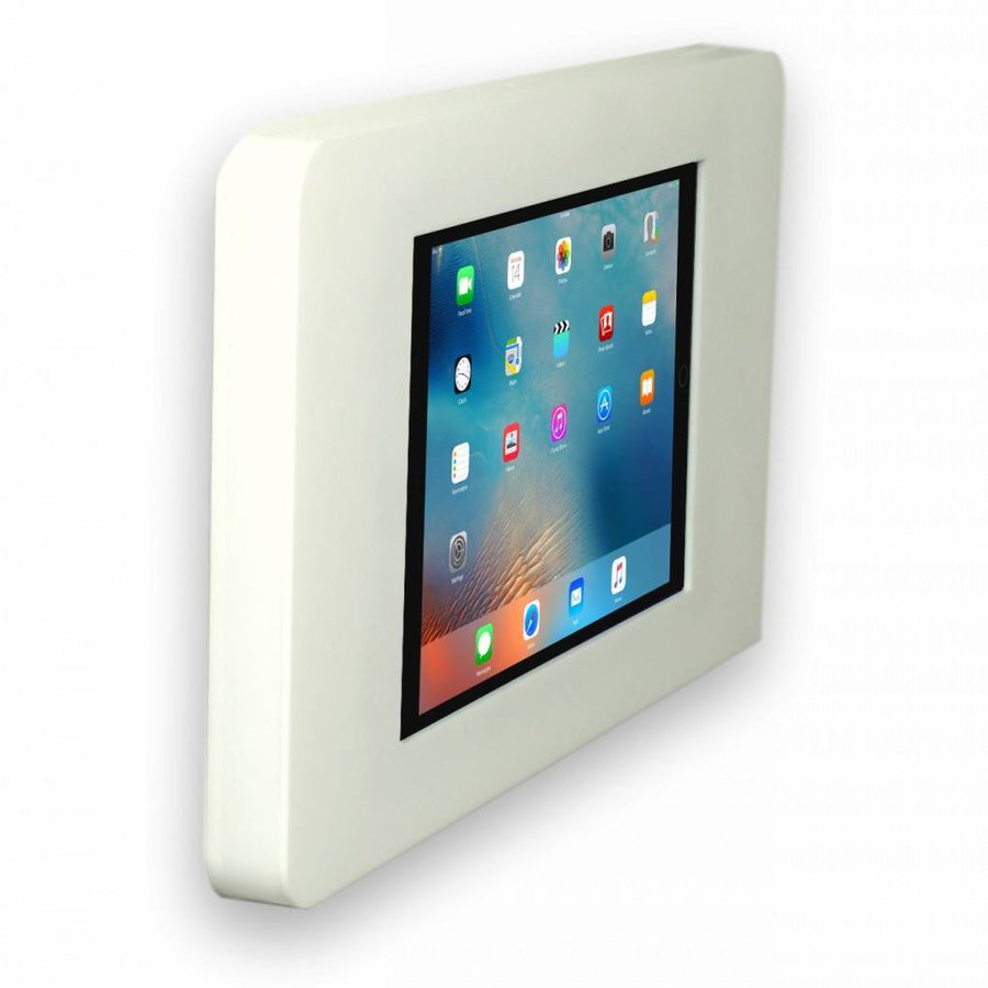 """Vlakke iPad wandhouder voor iPad 9.7"""" Piatto, wit"""