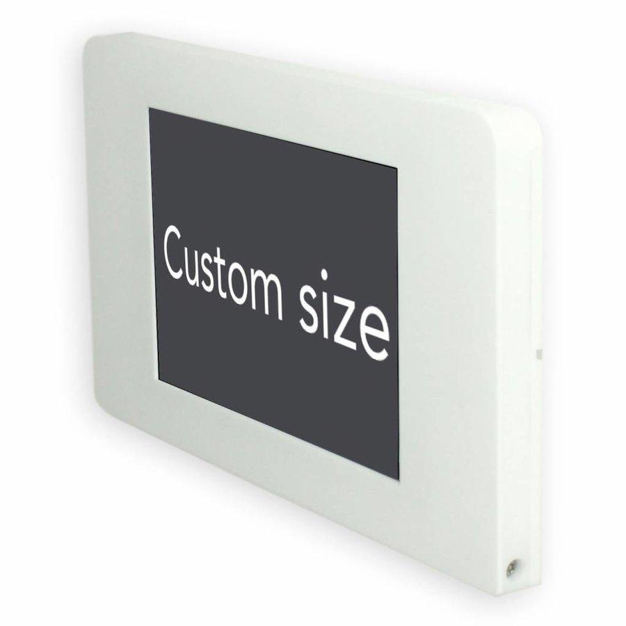 "Flat wall stand for Samsung 7,0, Samsung Tab A 10,1"", Samsung Tab S 9,7, Samsung Tab E 9,6, Samsung Pro 12,2, Samsung 8"", white, Piatto"