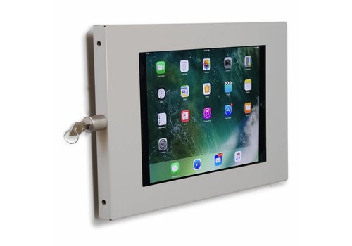 "Bravour Tablet wall mount flat Securo for iPad 10.5"" and other 9-11 inch tablets, grey"