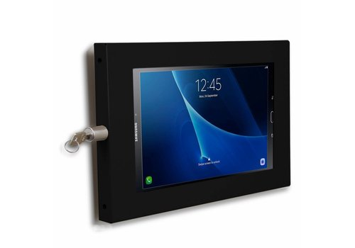 "Bravour Tablet wall mount flat Ferro for Galaxy Tab A 10.1"" and other 10.1"" inch tablets, black"