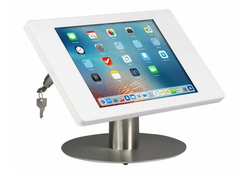 "Bravour Soporte de escritorio para iPad Pro 12.9"" blanco/acero Fino."