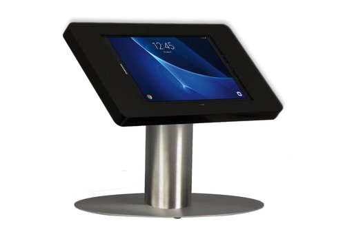 "Bravour Desk stand for Samsung Tab A 2016 10.1"" black-stainless steel Fino"