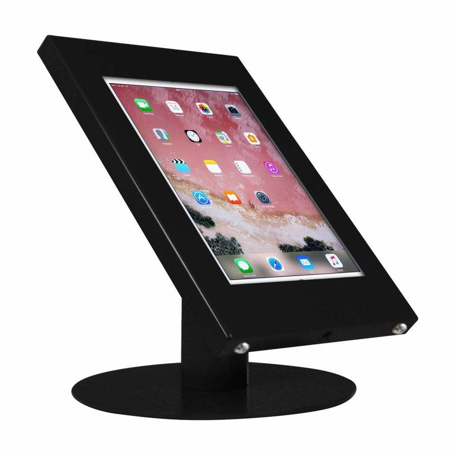 "iPad kiosk, desk stand Ferro for iPad 10.5"", black, white, grey"