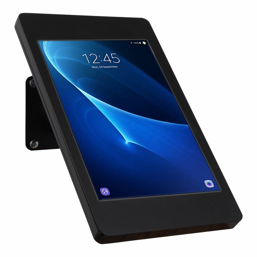 "Desk and wall stand for Samsung Galaxy TAB E 9.6"" black Fino"