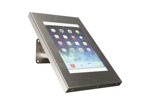Bravour Tablethouder voor tablets tussen 12-13 inch, RVS, gemonteerd aan muur of op tafel