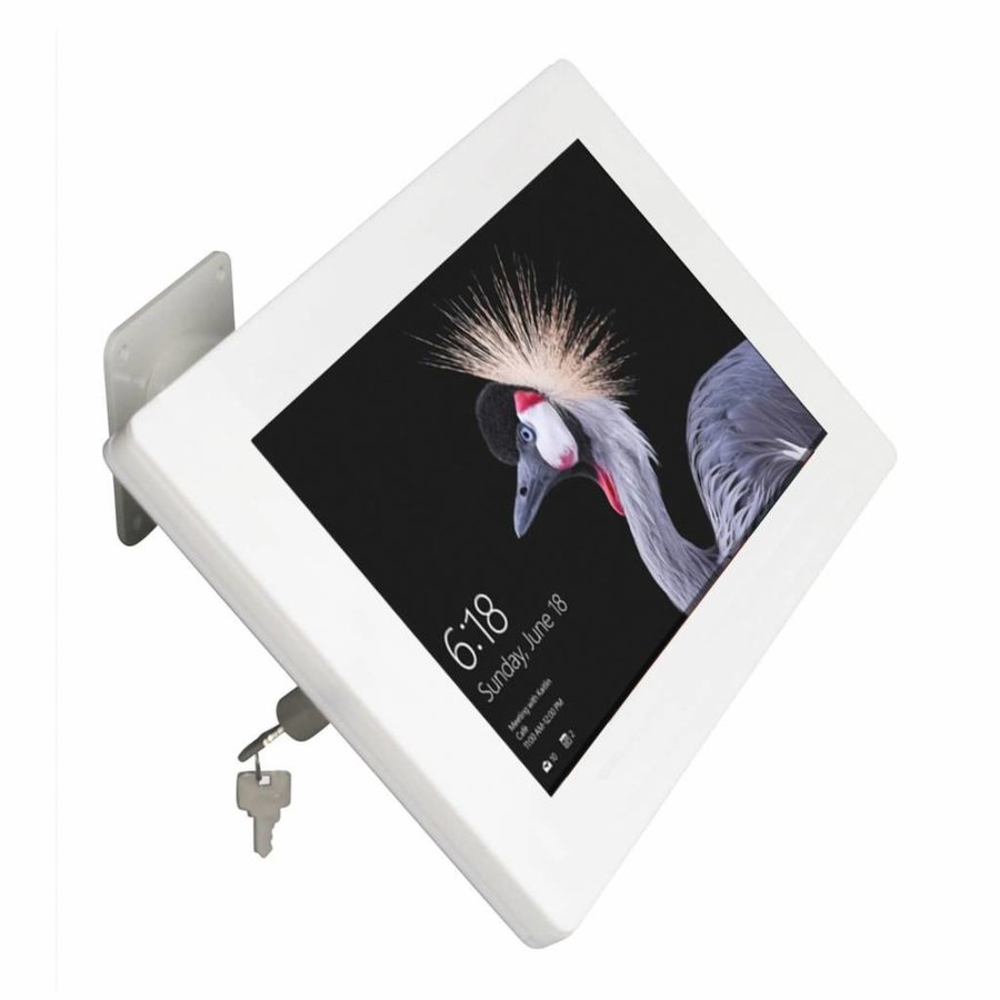 "Wall or desk mount for Microsoft Surface Pro 4 12.3"" white Fino"