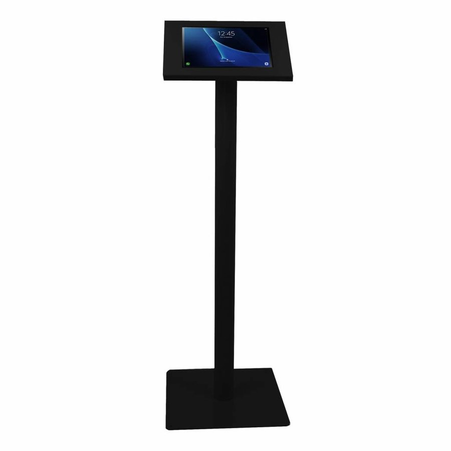 "Tablet floor mount Ferro  for Samsung 10.1""tablets  inch black, coated and sturdy steel"
