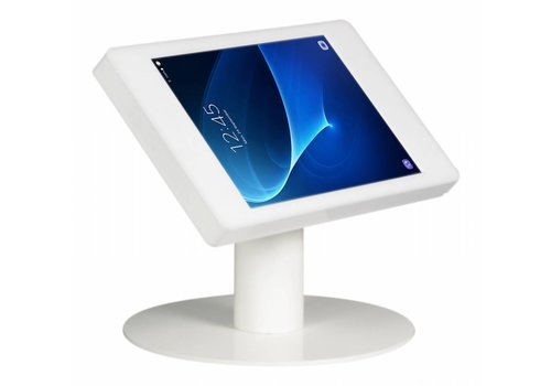 """Bravour Soporte tablet Samsung Galaxy Tab 4 10.1"""" escritorio blanco Fino"""