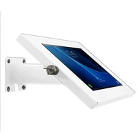 """Tablet wall and table mount for Samsung Tab A 2016 10.1"""", Ferro, white"""