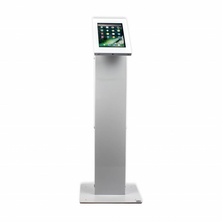 """Tablet display kiosk for tablets between 9-11"""" inch Chiosco, with universal Securo casing"""