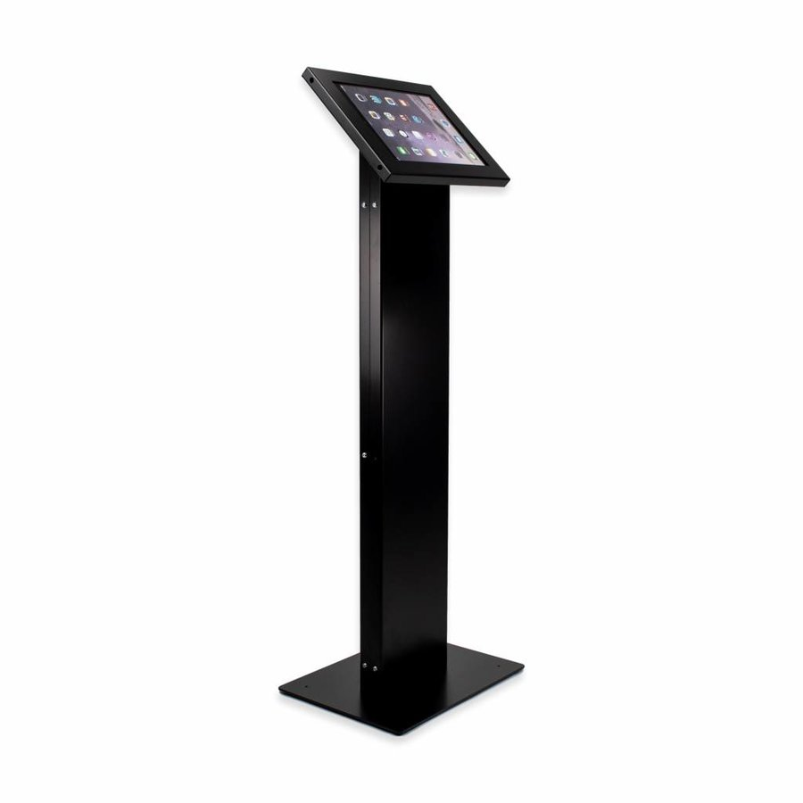 "Tablet display kiosk for tablets between 9-11"" inch Chiosco, with universal Securo casing"